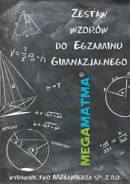 zestaw wzorów do gimnazjum e-book