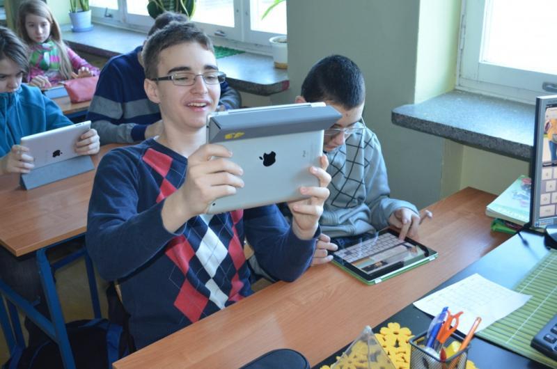MegaMatma z iPadem