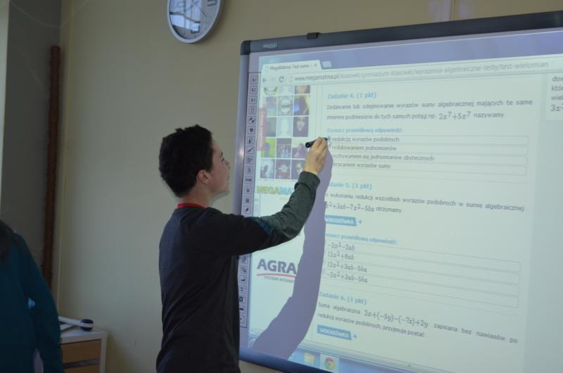 Test MegaMatma w szkole